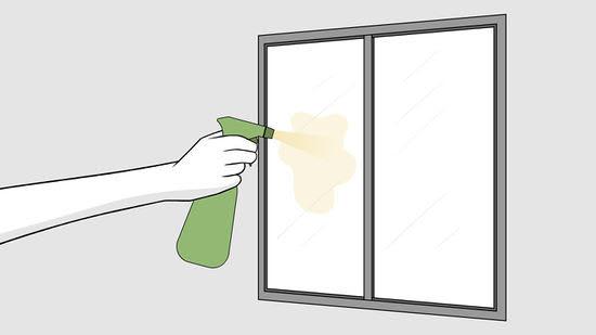 Comment se débarrasser du calcaire sur une vitre ?