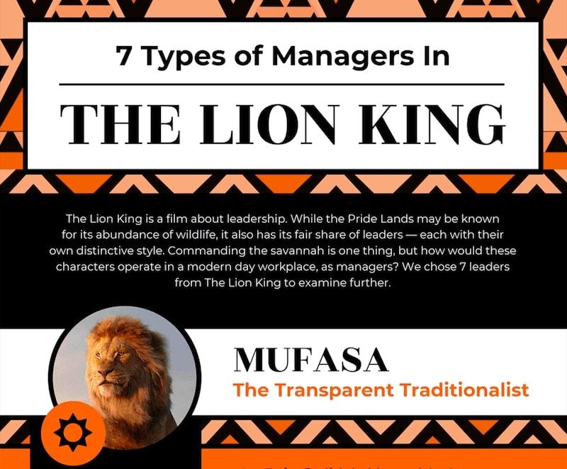 Comment être un manager efficace? Prenez l'exemple sur Le Roi Lion de Disney