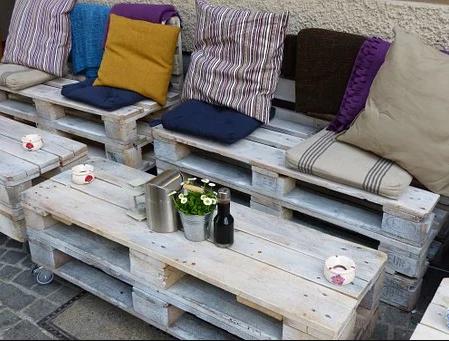 Pourquoi choisir un salon de jardin avec palette en bois ?
