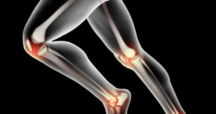 La lumière pour soulager les douleurs aux genoux