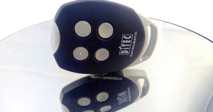 Une télécommande pour vos automatismes : la DITEC GOL4