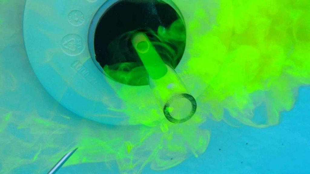 détection fuite d'eau colorant