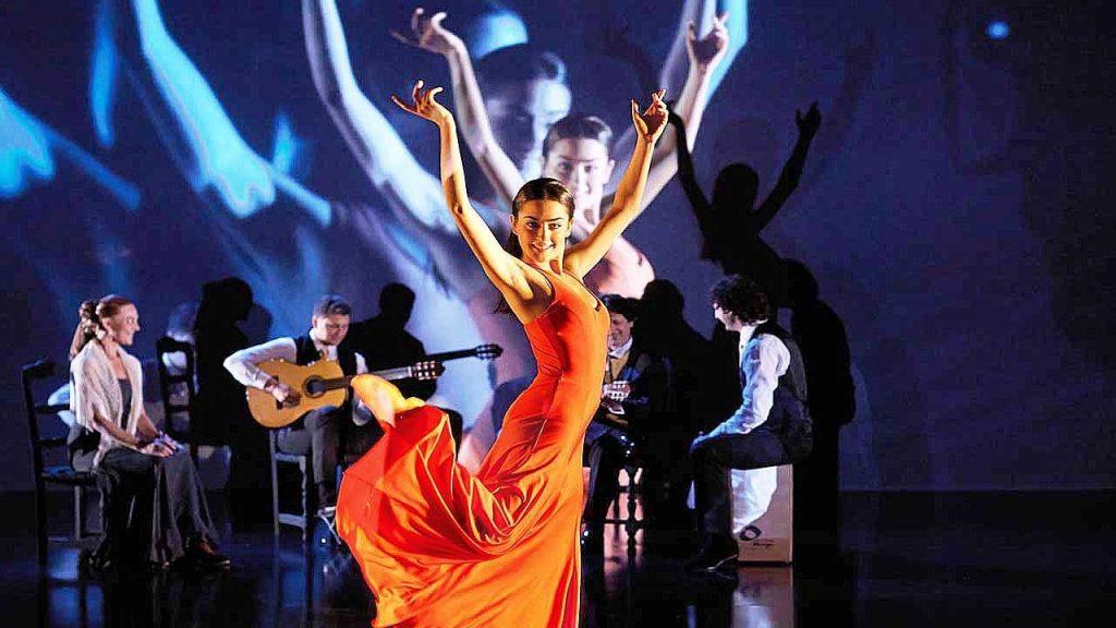 La danse flamenco