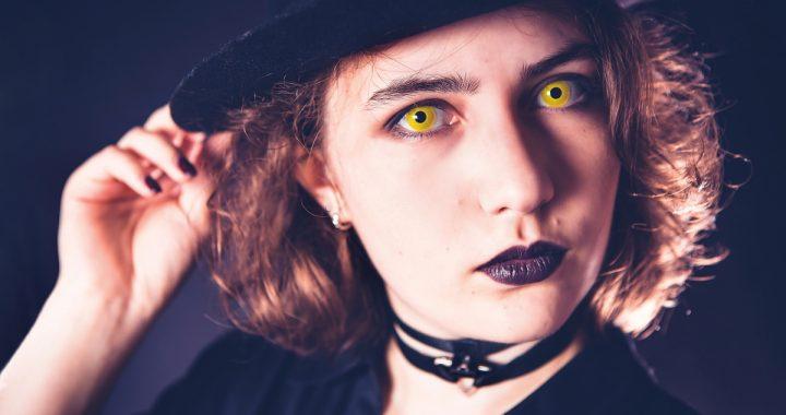 Comment porter les lentilles halloween sans danger?
