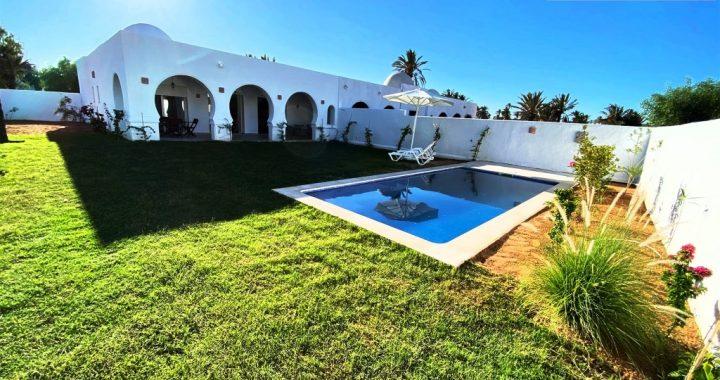 Ile de Djerba superbes villas neuves avec piscine et jardin privatif