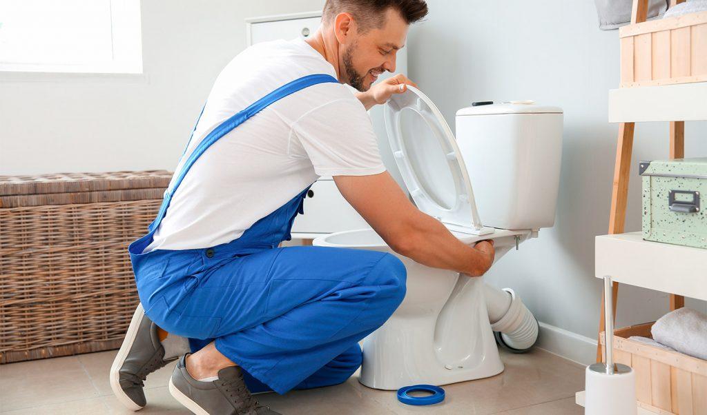 réparer une toilette qui fuit