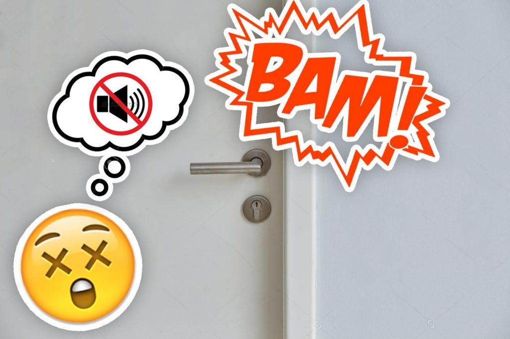 Comment résoudre un problème de claquement de porte