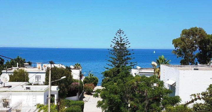 Sidi Dhrief Marsa Corniche terrain a bâtir vue mer