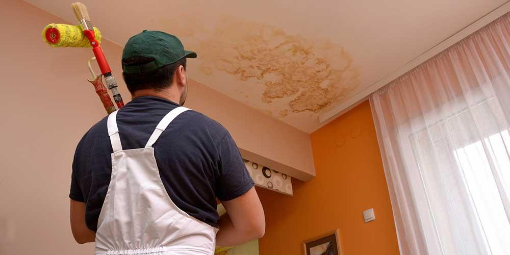 réparer un plafond