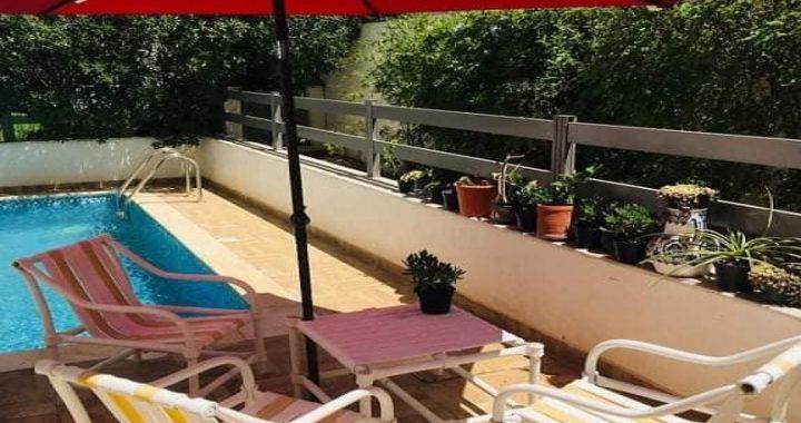 Banlieue Nord Jardins de Carthage superbe RDC S+3 jardin et piscine privée