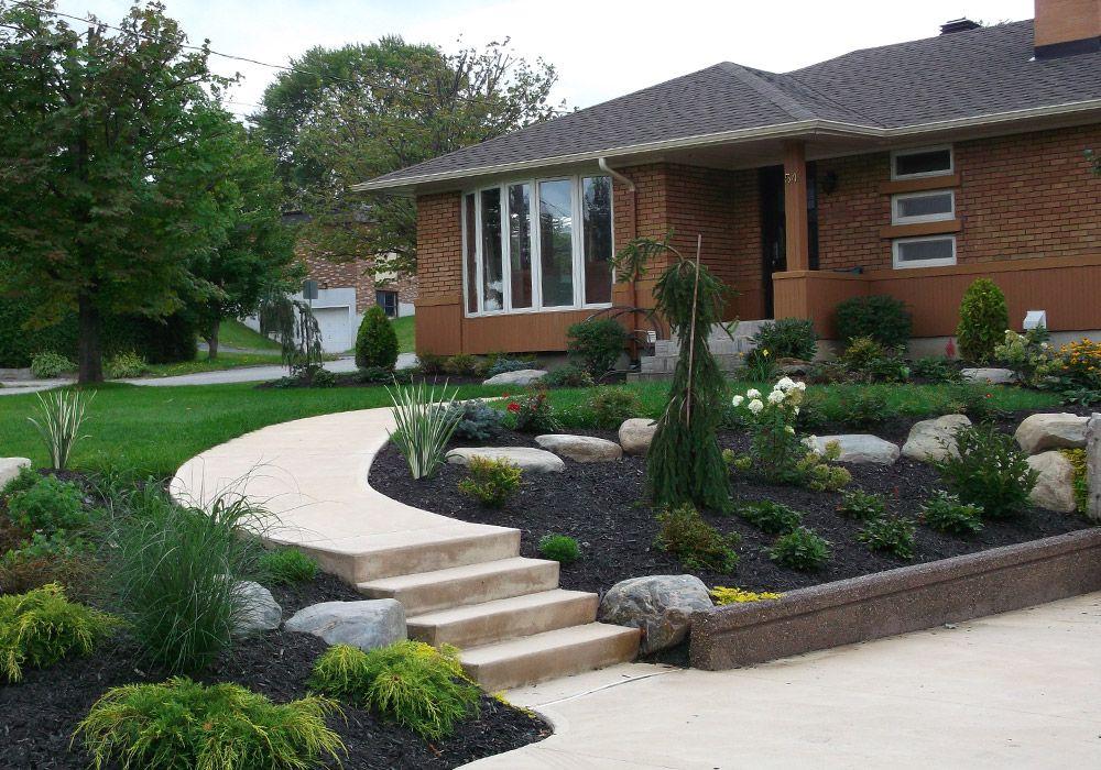 aménagement paysager extérieur