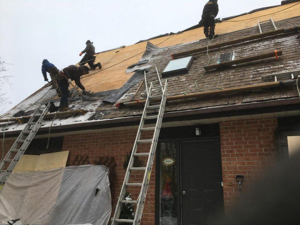 installer un nouveau toit