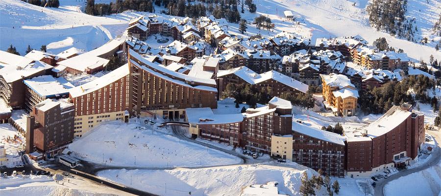 La station de ski Les Arcs