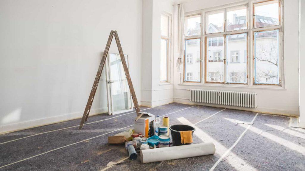 travaux appartement