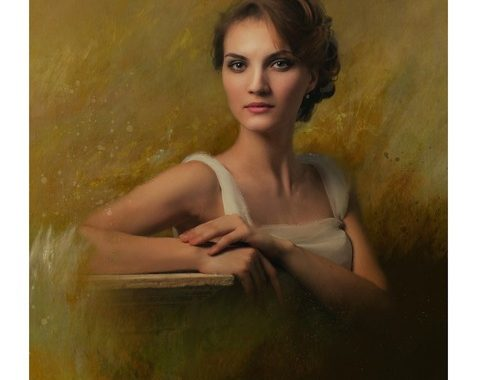Reproduire un portrait d'après photo en peinture à l'huile