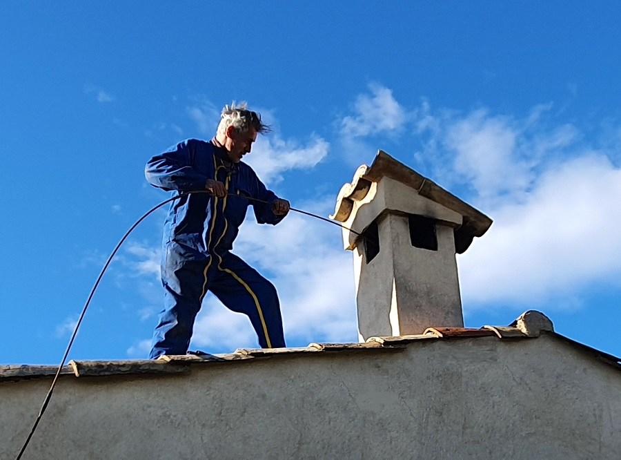 ramonage de notre cheminée
