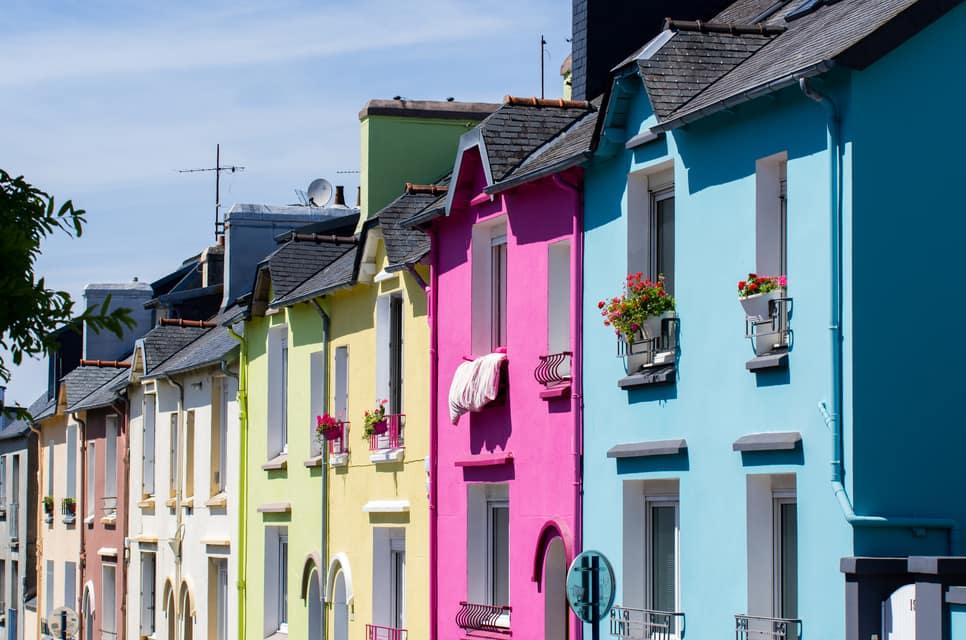 Peinture façade couleur