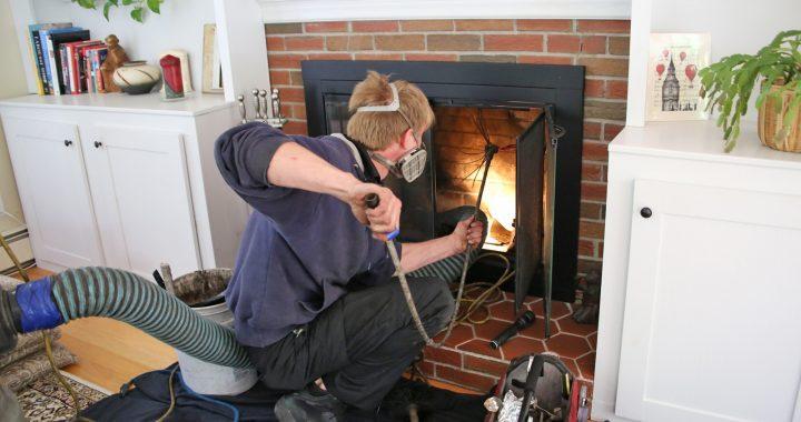 Ramoner sa cheminée à petit prix, c'est possible!