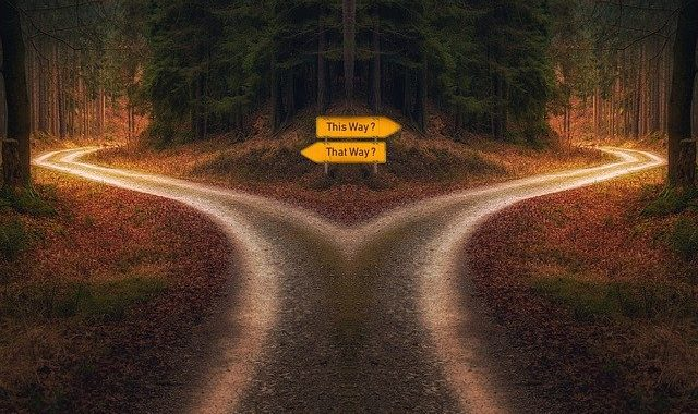 L'art de prendre une décision.