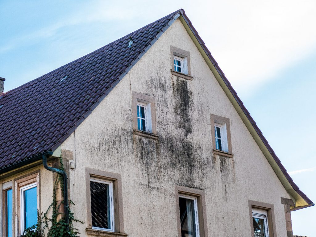 dégradation de la façade
