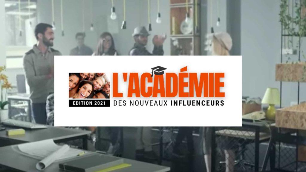 logo lacademie des nouveaux influenceurs