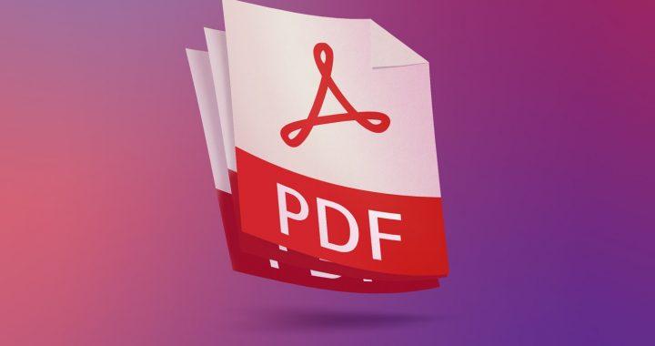 Pourquoi vous devriez utiliser le format PDF en tant que web designer